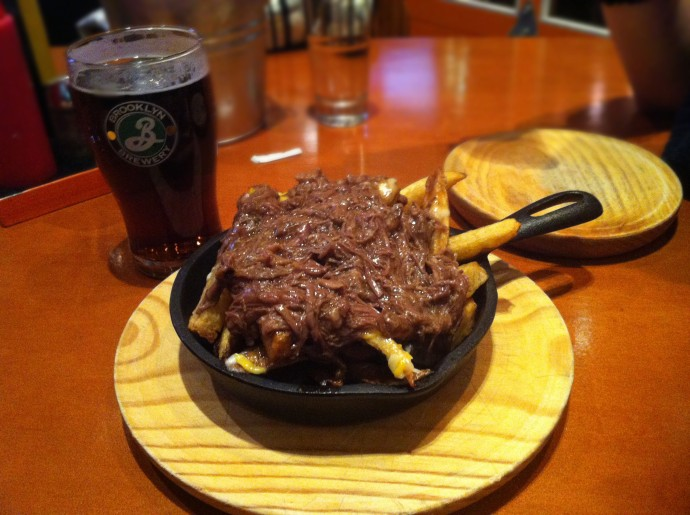 Braised short rib french fries