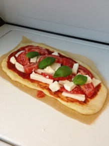 Tomato and Fresh mozzarella