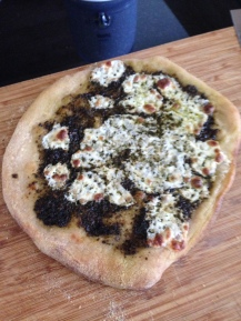 Pesto and Fresh Mozzarella